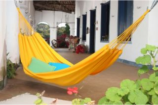 Island Bay Small Traditional Hand Woven Brazilian Solid Colored Hammock   Hammocks