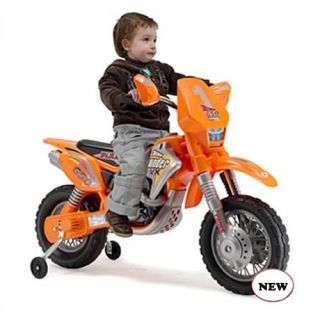 Injusa Motocross Thunder Max VX Motorcycle Battery Powered Riding Toy   Battery Powered Riding Toys