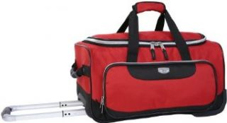 Dockers Explorer 20 Inch Roll Duffel Bag, Chili Pepper, 20 Inch Clothing