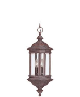 Sea Gull Hill Gate Outdoor Hanging Light   25H in. Textured Rust   Outdoor Hanging Lights