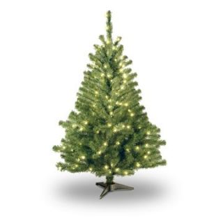 4 ft. Kincaid Spruce Pre Lit Christmas Tree   Clear   Christmas Trees