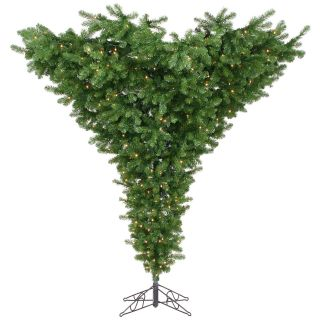 7.5 ft. Upside Down Full Pre lit Christmas Tree   Christmas Trees
