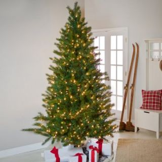 Brite Ideas Shake to Shape Fir Medium Pre lit Christmas Tree   Christmas Trees