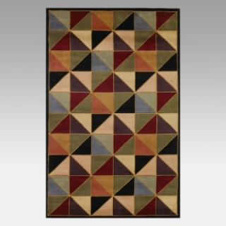 KAS Rugs Signature Multi Color Kaleidoscope Area Rug   Area Rugs