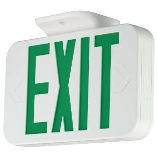 Compass CEG Hubbell Lighting LED 2 Head Emergency Light   Commercial Lighted Exit Signs