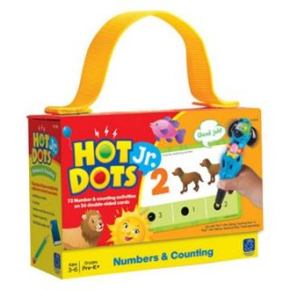 Educational Insights Hot Dots Jr Educational Cards & Pen Set   Numbers & Counting   Learning Aids