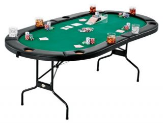 Fat Cat Folding Poker Table   Poker Tables