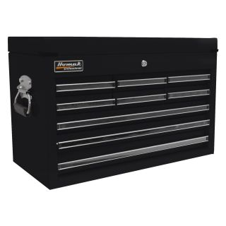 Homak 27 in. Pro Series 9 Drawer Top Chest   Tool Chests & Cabinets