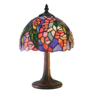 Tiffany Style Floral Table Lamp   Table Lamps