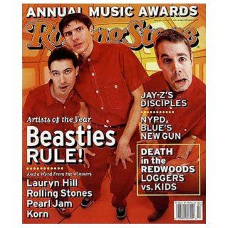 Rolling Stone Magazine, Issue 804, January 1999, Beastie Boys Cover j Books
