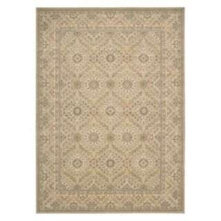 Nourison PE24 Persian Empire Area Rug   Light Gold   Area Rugs