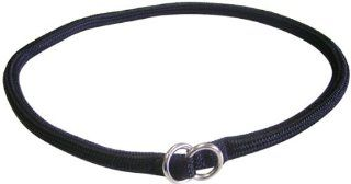 Hamilton 829 BK 5/16 Inch by 20 Inch Round Braided Choke Nylon Dog Collar, Black  Pet Choke Collars