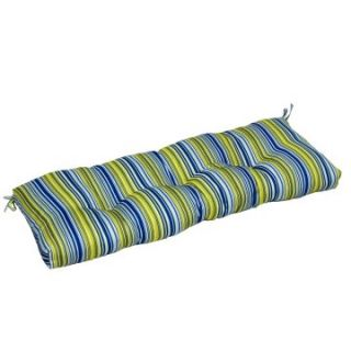 Greendale Home Fashions Indoor Bench Cushion   44 x 17 in.   Vivid Stripe   Bench Cushions