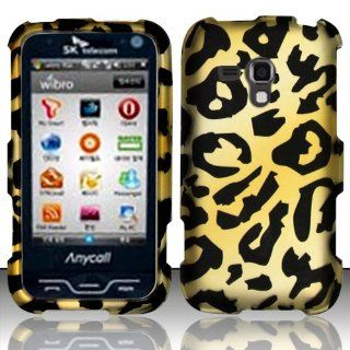 Yellow Cheetah Hard Cover Case for Samsung Galaxy Rush SPH M830 Cell Phones & Accessories