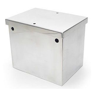 JEGS Performance Products 10281 Aluminum Battery Box Automotive