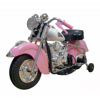 FeeNix Indian Motorcycle Battery Powered Riding Toy   Pink   Battery Powered Riding Toys