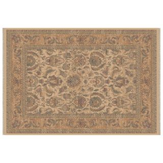 Dynamic Rugs Ancient Garden Collection Hearth Rug Creme   Hearth Rugs