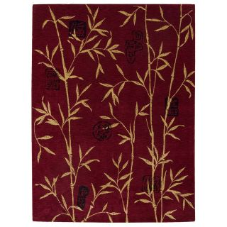 Nourison Chambord CM07 Area Rug   Red   Area Rugs