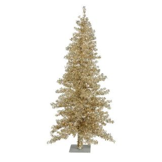 Vickerman Champagne Wide Cut Christmas Tree   Christmas Trees
