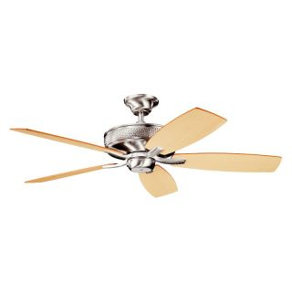 Kichler 339013BSS Monarch II 52 in. Indoor Ceiling Fan   Brushed Stainless Steel   Energy Star   Ceiling Fans