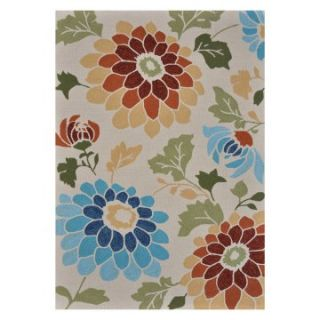 Loloi Sunshine Poppy SS 02 indoor/Outdoor Area Rug   Ivory   Area Rugs