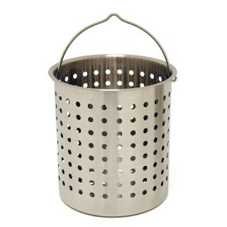 Bayou Classic Stainless Steel Perforated Baskets   Stockpots & Fryer Baskets