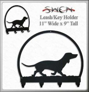 DACHSHUND Metal Key Chain Hanger   Leash Holder   Key Hooks