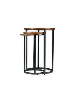 Stanley Furniture 816 65 13 Continuum Round Metal Nesting Table