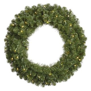 Vickerman 30 in. Pre Lit LED Grand Teton Wreath   Christmas Wreaths