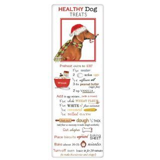 Healthy Homemade Dog Treats Dachshund   Dish Towels