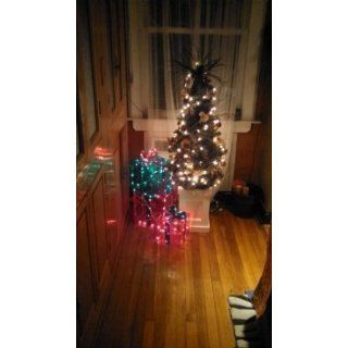 Lighted Gift BOXES Christmas Indoor / Outdoor 150 Lights presents   Seasonal Celebration Lighting