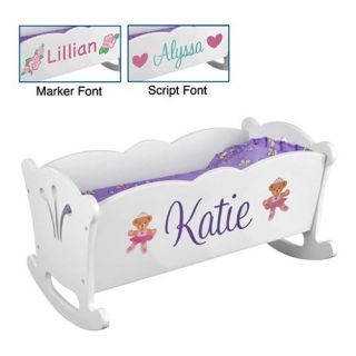 KidKraft Personalized Lil Doll Cradle   Baby Doll Furniture