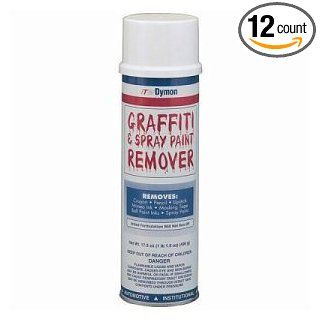 ITW Dymon Graffiti and Spray Paint Remover, 20 Ounce Aerosol Can    12 cans per case.