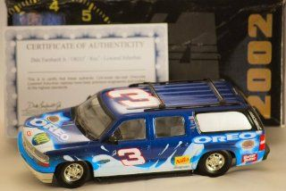 2002   Action / Brookfield Collectors Guild   RCCA   Dale Earnhardt Jr #3   OREO / RITZ   Chevrolet Lowered Suburban   COA   Rare 1 of 2,508 / Numbered 826   Limited Edition   Collectible Toys & Games