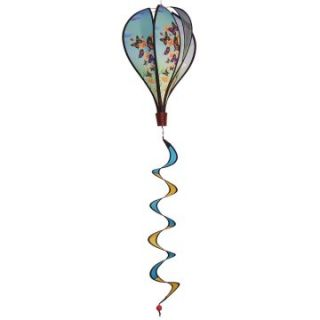 In the Breeze Butterfly Swarm Hot Air Balloon Wind Spinner   Wind Spinners
