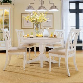 American Drew Camden White Dining Side Chairs   Set of 2   Dining Chairs