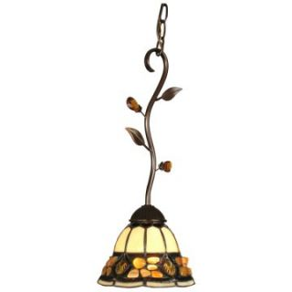 Dale Tiffany Pebblestone Fixture Pendant   TH90229   Tiffany Ceiling Lighting
