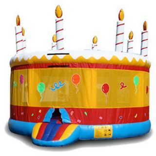 EZ Inflatables Birthday Jumper Bounce House   Commercial Inflatables