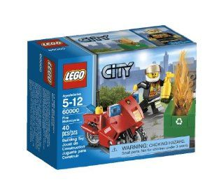 LEGO City Motorcycle 60000 Toys & Games
