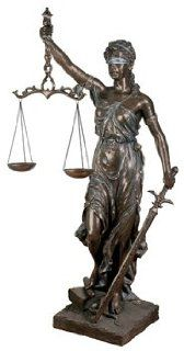 Life Size Lady Justice   Collectible Figurine Statue Sculpture Figure