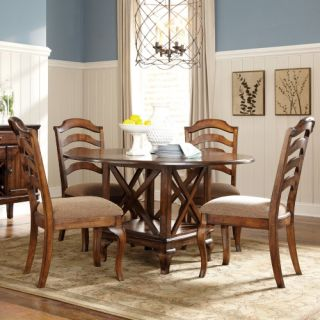 Standard Furniture Crossroad 5 Piece Round Dining Table Set   Dining Table Sets