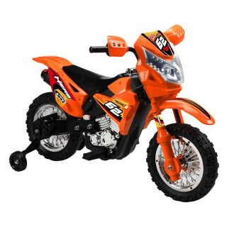 Vroom Rider Dirt Bike Motorcycle Battery Powered Riding Toy   Orange   Battery Powered Riding Toys