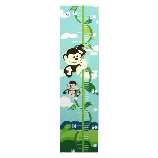 Jungle Room Magnetic Growth Chart   32W x 8H in.   Decor