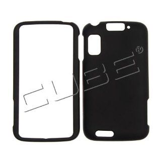 For Motorola Atrix 4G MB860 Case Cover _ Black Rubberized LHN01 Cell Phones & Accessories