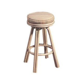 Rattan Specialties Beachcomber 26 in. Backless Swivel Counter Stool   Bar Stools