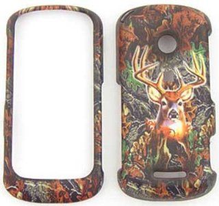 Motorola Crush W835 Camo / Camouflage Hunter Series, w/ Deer Hard Case/Cover/Faceplate/Snap On/Housing/Protector Cell Phones & Accessories