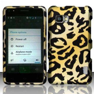 Yellow Cheetah Hard Cover Case for LG Mach LS860 Cell Phones & Accessories