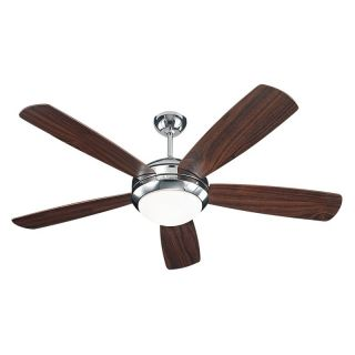Monte Carlo 5DI52PND Discus 52 in. Indoor Ceiling Fan   Polished Nickel   Ceiling Fans