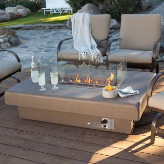 Palazetto 60 in. Gas Fire Table   Sand   Fire Pits