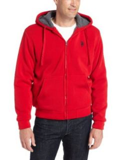 U.S. Polo Assn. Men's Hoodie with Nubby Polar Fleece Lining at  Men�s Clothing store Fashion Hoodies